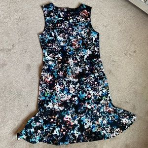The Limited Fit and Flare at the Bottom Dress